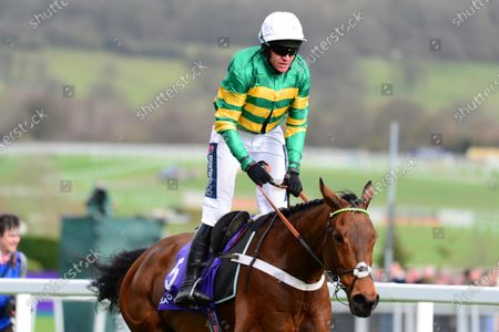 Cheltenham. RSA Insurance Novices' Chase (Grade 1) CHAMP and Barry Geraghty win for trainer Nicky Henderson and owner JP McManus.
