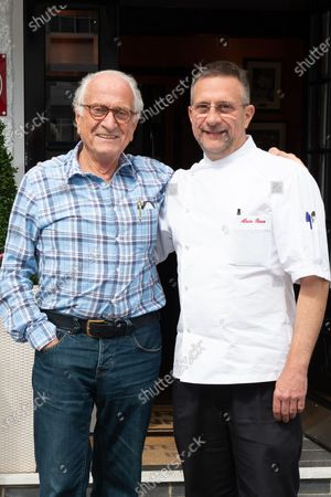 Michel Roux and his son Alain Roux
