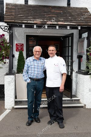 Editorial picture of Michel Roux Snr at the Waterside Inn, Bray, Berkshire, UK - 24 Aug 2018