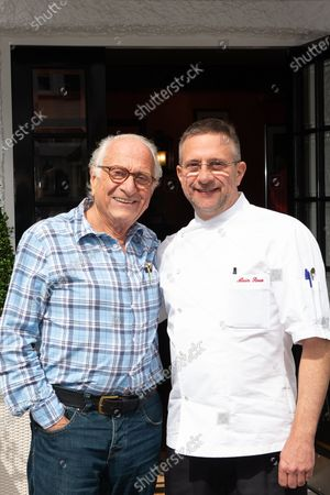 Editorial photo of Michel Roux Snr at the Waterside Inn, Bray, Berkshire, UK - 24 Aug 2018