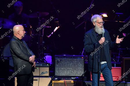 Paul Shaffer and David Letterman
