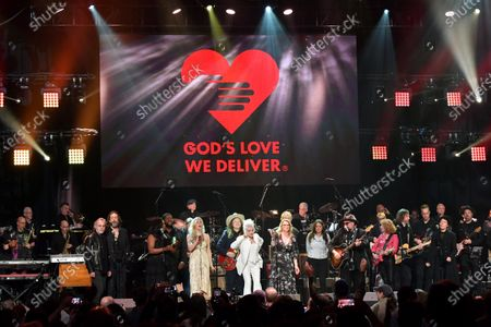 Jackson Brown, Chris Robinson, Tanya Blount-Trotter, Michael Trotter Jr., Joss Stone, Marcus King, Cyndi Lauper, Susan Tedeschi, Jimmy Vivino, Sue Foley and Emily King