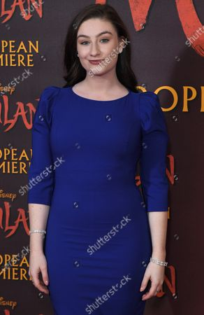 Stock Photo of Amber Doig-Thorne