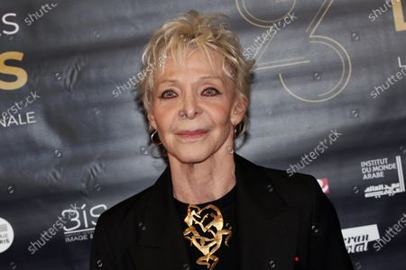 Tonie Marshall poses during a photocall prior to the 23rd Lumieres awards ceremony in Paris. French-American filmmaker and actress Tonie Marshall, who remained the only female director to ever win a French Cesar award, has died. She was 68