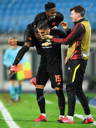 Editorial image of LASK Linz vs Manchester United, Austria - 12 Mar 2020