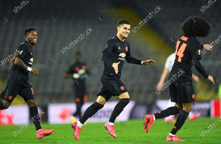 Editorial photo of LASK Linz vs Manchester United, Austria - 12 Mar 2020