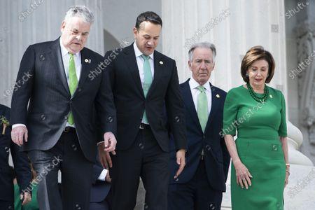 Editorial photo of Pelosi meets Irish PM on Capitol, Washington, USA - 12 Mar 2020