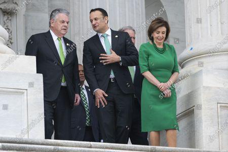 Editorial picture of Pelosi meets Irish PM on Capitol, Washington, USA - 12 Mar 2020