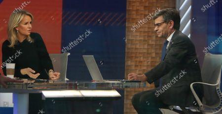Stock Photo of Jennifer Ashton, George Stephanopoulos