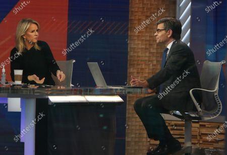 Stock Image of Jennifer Ashton, George Stephanopoulos