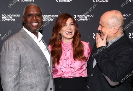 Stock Picture of Andre Braugher, Debra Messing, and Enrico Colantoni