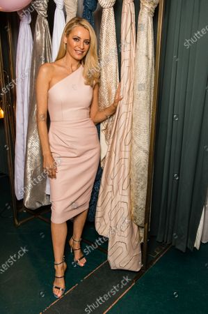 Editorial image of Tess Daly Home in association with Clarke & Clarke launch  party  in London, UK - 12 Mar 2020
