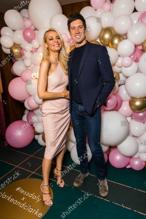 Editorial photo of Tess Daly Home in association with Clarke & Clarke launch  party  in London, UK - 12 Mar 2020