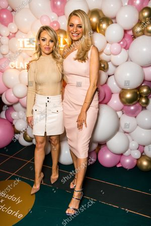 Katie Piper and Tess Daly