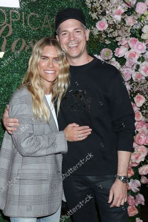 Stock Picture of Lauren Kennedy and Jason Kennedy