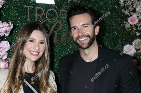 Stock Image of Natalie Tenerelli and Dan Cox