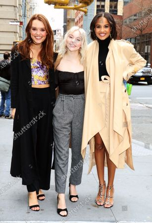 Jessica Sutton, Taylor Hickson and Ashley Nicole Williams