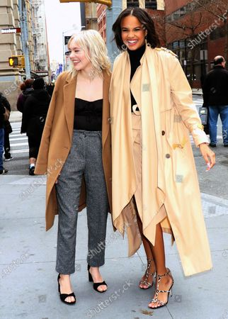 Stock Image of Taylor Hickson and Ashley Nicole Williams