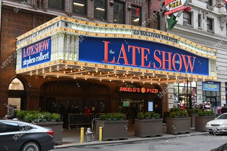 """CBS said in its own statement, """"Beginning Monday, March 16, The Late Show With Stephen Colbert will film without a live, in-studio audience. This move is being made out of an abundance of caution regarding the spread of the COVID-19 virus and the uncertainty of the situation for future weeks."""