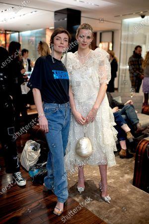Camilla Rutherford and Greta Bellamacina