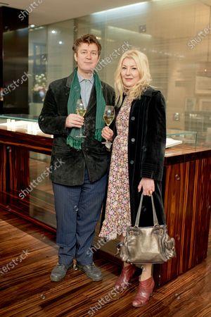 Niall McDevitt and Julie Goldsmith