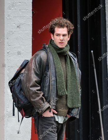 Stock Photo of Andrew Garfield