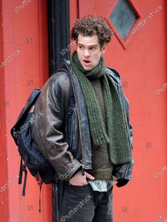 Stock Image of Andrew Garfield
