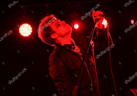 Actor and singer Michael C. Hall performs with his band Princess Goes To The Butterfly Museum at the Mercury Lounge, in New York