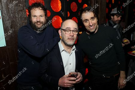Stock Photo of Kyle Marvin, Todd Barry and Michael Angelo Covino