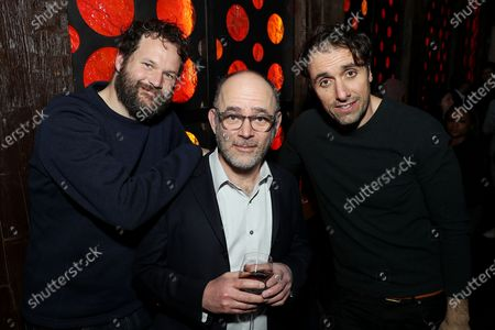 Kyle Marvin, Todd Barry and Michael Angelo Covino