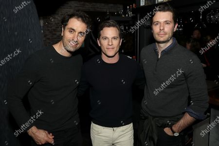 Stock Photo of Michael Angelo Covino, Mike Doyle and Guest