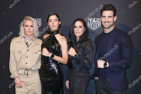 Editorial image of TAG Heuer celebrates the Launch Of The New Connected Watch, New York, USA - 12 Mar 2020