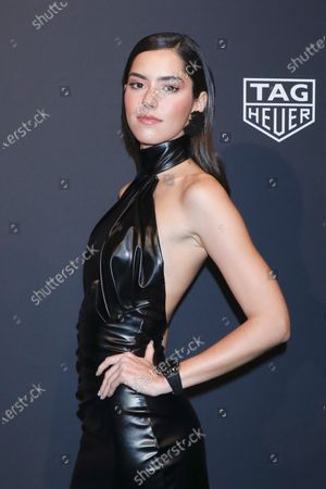 Editorial picture of TAG Heuer celebrates the Launch Of The New Connected Watch, New York, USA - 12 Mar 2020