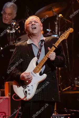 Jimmie Vaughan performs at Love Rocks NYC!, a Benefit Concert for God's Love We Deliver at the Beacon Theatre on in New York