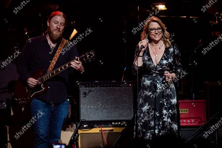 Derek Trucks, left, and Susan Tedeschi performs at Love Rocks NYC!, a Benefit Concert for God's Love We Deliver at the Beacon Theatre on in New York
