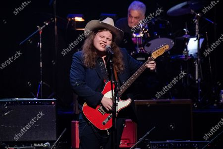 Marcus King performs at Love Rocks NYC!, a Benefit Concert for God's Love We Deliver at the Beacon Theatre on in New York