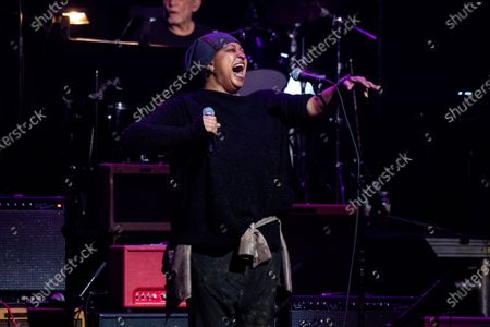Lisa Fischer performs at Love Rocks NYC!, a Benefit Concert for God's Love We Deliver at the Beacon Theatre on in New York