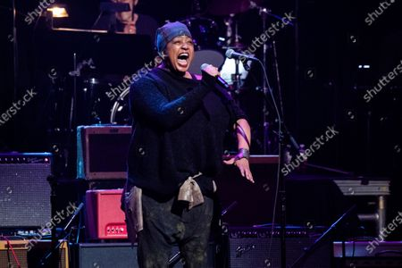 Stock Image of Lisa Fischer performs at Love Rocks NYC!, a Benefit Concert for God's Love We Deliver at the Beacon Theatre on in New York