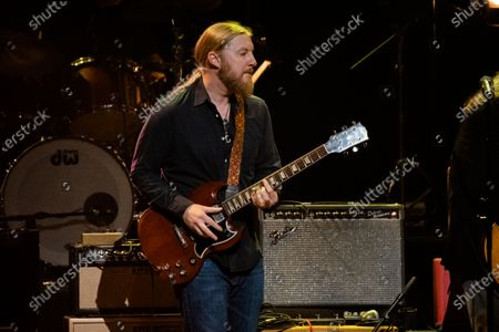 Derek Trucks performs at Love Rocks NYC!, a Benefit Concert for God's Love We Deliver at the Beacon Theatre on in New York