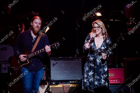 Derek Trucks, left, and Susan Tedeschi perform at Love Rocks NYC!, a Benefit Concert for God's Love We Deliver at the Beacon Theatre on in New York