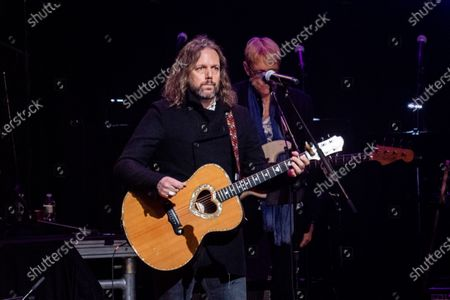Rich Robinson performs at Love Rocks NYC!, a Benefit Concert for God's Love We Deliver at the Beacon Theatre on in New York