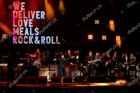 Stock Image of Emily King performs at Love Rocks NYC!, a Benefit Concert for God's Love We Deliver at the Beacon Theatre on in New York