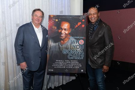 (L-R) Ola Strom and Ray Parker Jr.