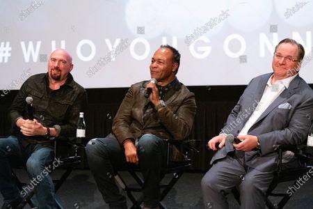 (L-R) Fran Strine, Ray Parker Jr. and Ola Strom