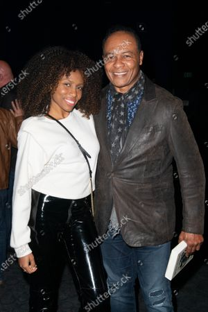 (L-R) Nik West and Ray Parker Jr.