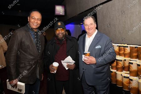(L-R) Ray Parker Jr., Eddie Holland and Ola Strom