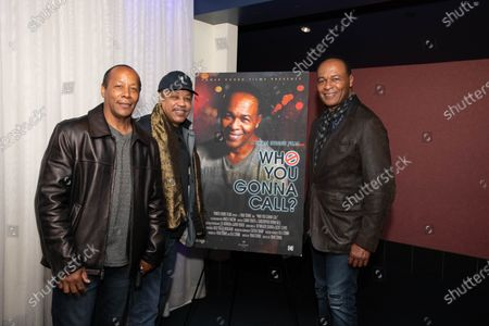 (L-R) Vincent Calloway, Reginald Calloway and Ray Parker Jr.