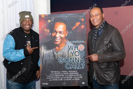 (L-R) Vince Wilburn Jr. and Ray Parker Jr.