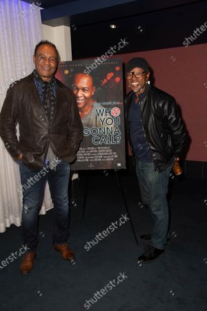 (L-R) Ray Parker Jr. and Donnell Spencer Jr.