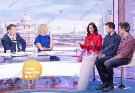 Editorial picture of 'Good Morning Britain' TV show, London, UK - 13 Mar 2020